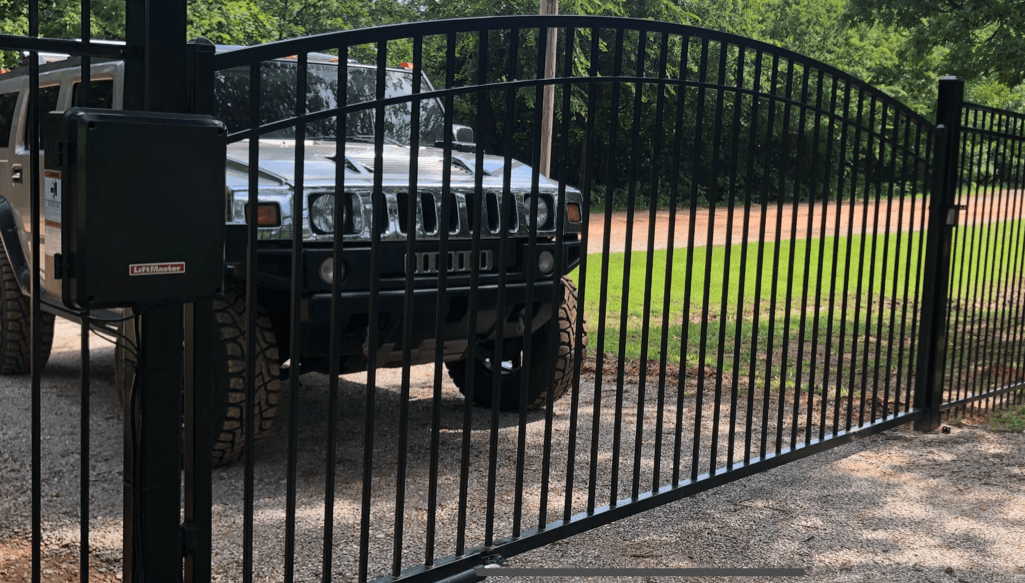 Security gates installation OKC area